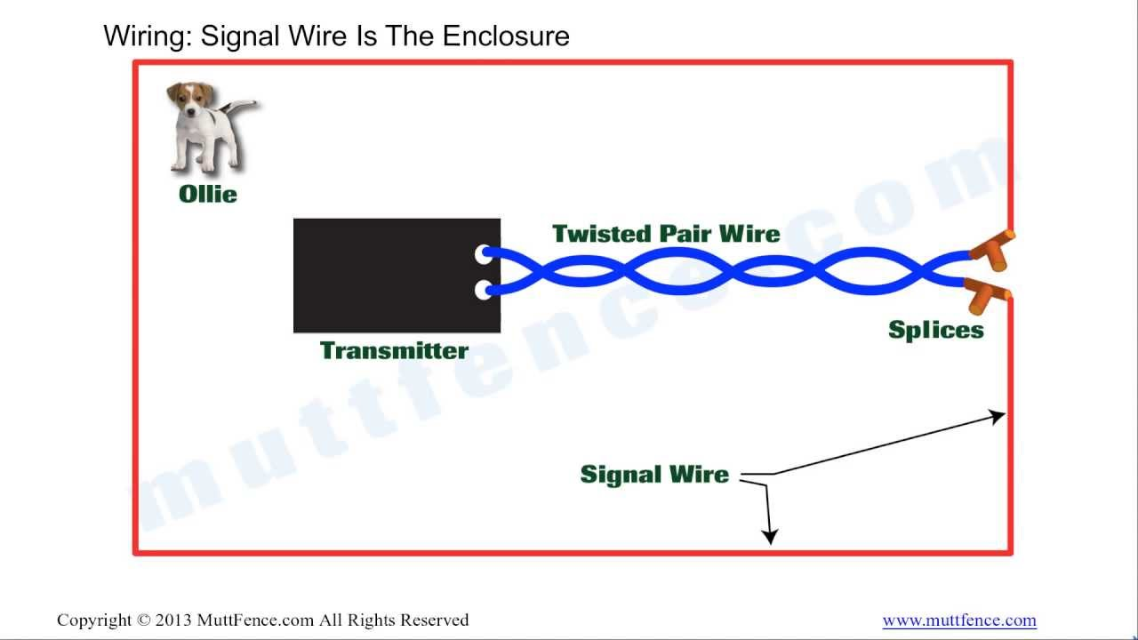 In Ground Fence Wiring Basics YouTube – Electric Fence Wiring Diagram