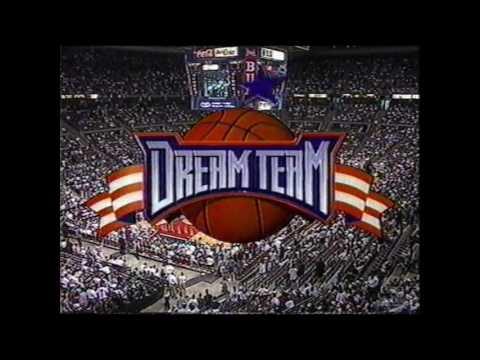 Dream Team II vs a select team headlined by Tim Duncan and Paul Pierce (1996)