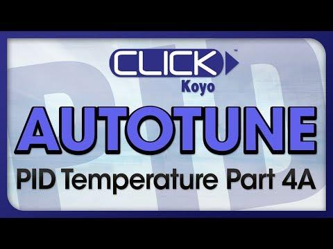CLICK PID Tutorial Videos Part 4A - Autotune Part A