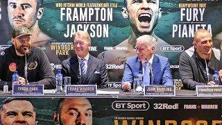 Tyson Fury vs Francesco Pianeta FINAL PRESS CONFERENCE | Frank Warren Boxing