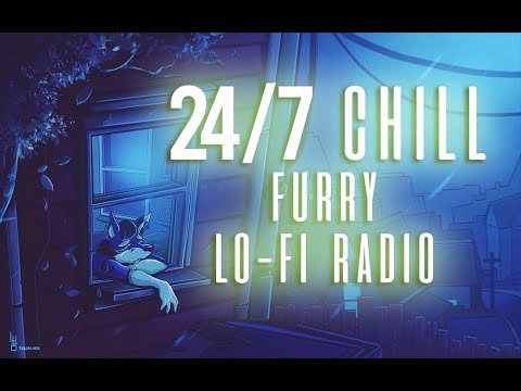 FURRY MUSIC 24/7 RADIO STREAM / CHAT | Chill Lo-Fi Beats To Relax & Study To | Aquarius Crystalwave