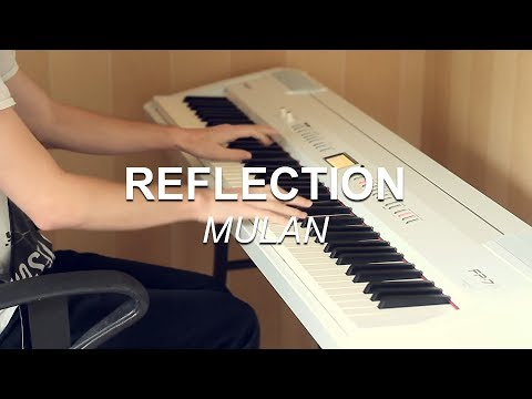 Reflection Disneys Mulan  Piano   Joel Sandberg + Free Download Link