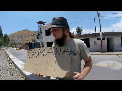 Camana hitchhiking and stuff