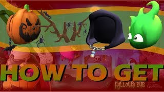 How to get Pumpkin Backpack, Spider Antlers... | Hallow's Eve: Sinister Swamp | Roblox EVENT