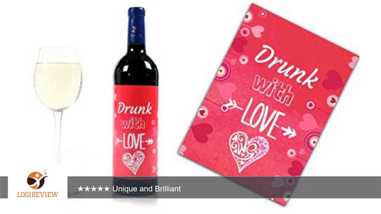 Wine Bottle Wedding Labels for Engagement Party, Wedding Day, Bridal ...