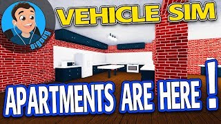 APARTMENTS Are Here in Roblox Vehicle Simulator Apartments Update