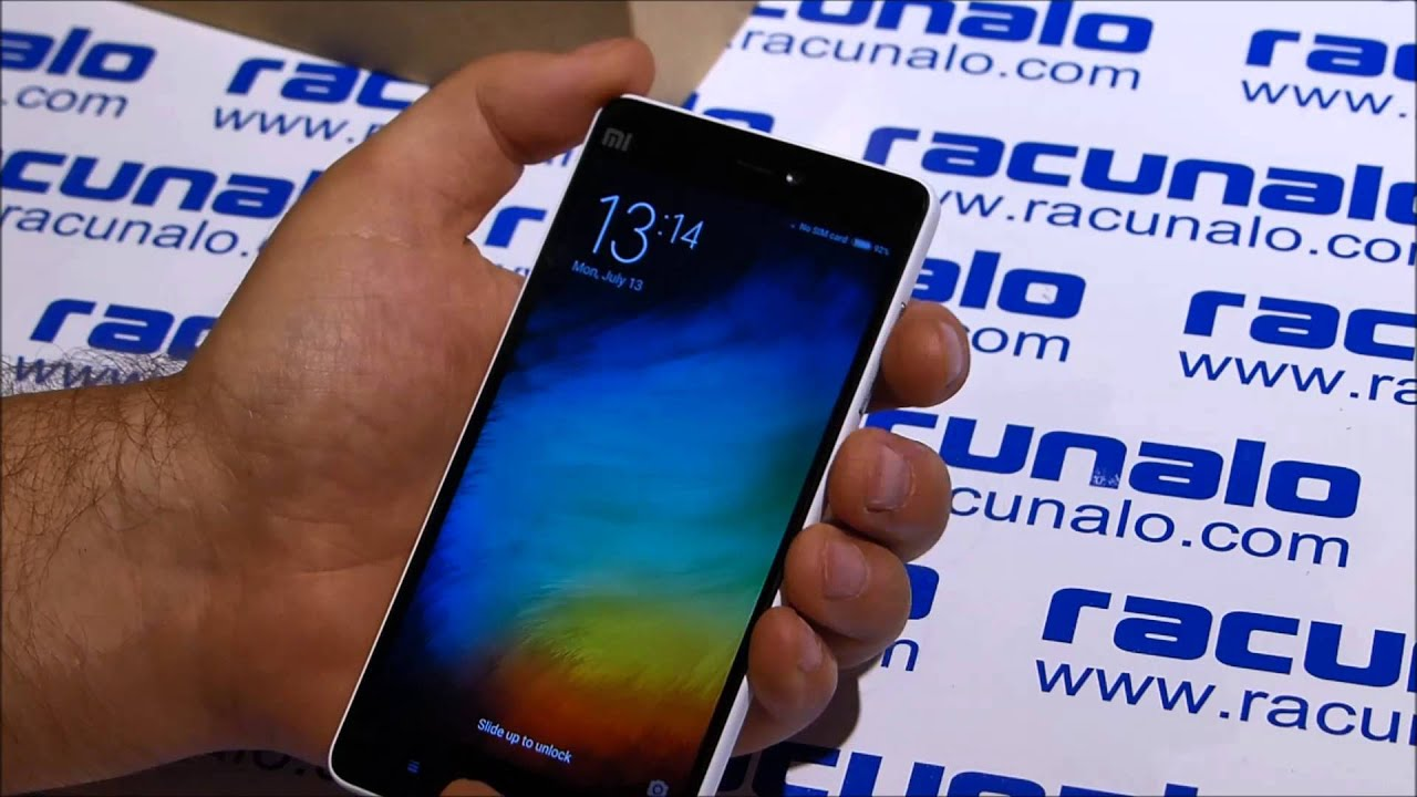 Xiaomi Mi4i 4G LTE Dual SIM video test 13 07 2015