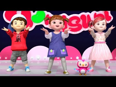 Танец Консуни  - Консуни песенка  -  Opening Dance - Kids Cartoon