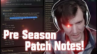 Hashinshin: What IS THIS? - PRE SEASON Patch Notes...