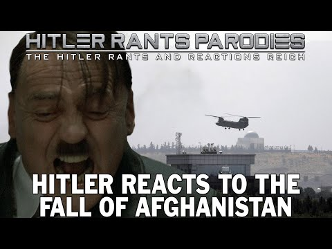 Hitler reacts to the fall of Afghanistan
