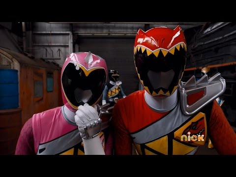 Power Rangers Dino Charge - Race to Rescue Christmas - Ivan and Tyler