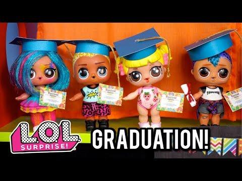 Barbie Doll LOL  School Graduation! Morning Routine - Last Day of School!
