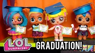 Barbie Doll LOL  School Graduation! Morning Routine - Last Day of School!