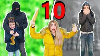 БОГАТЫЙ Школьник Против БЕДНОГО 10 серия Спасаем папу от злодеев