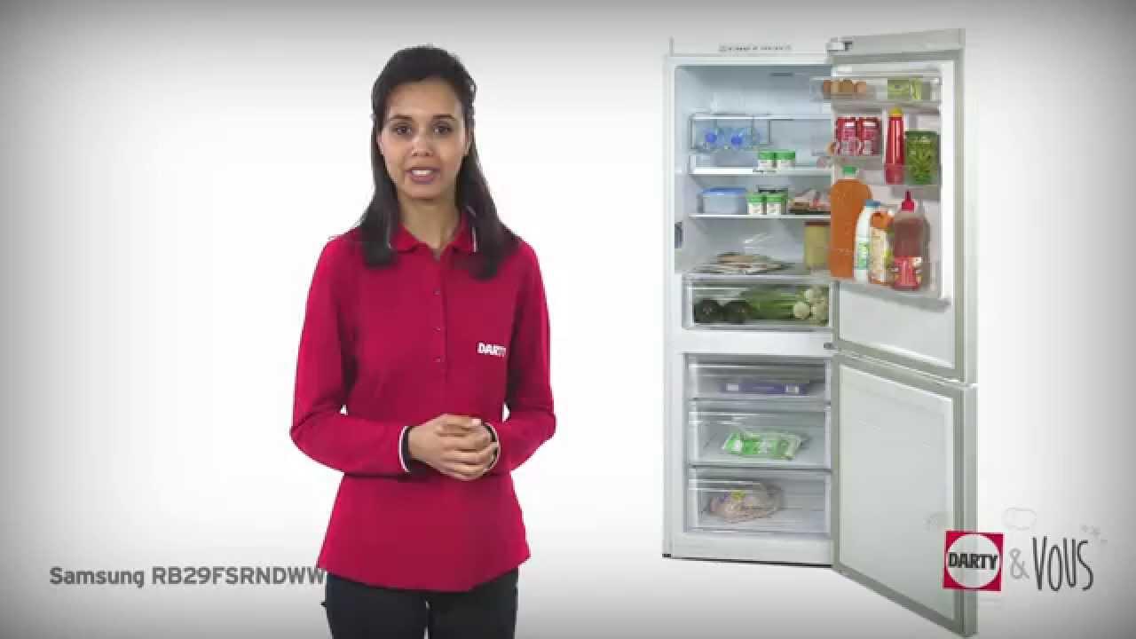 Réfrigérateur Congélateur Samsung Rb29fsrndww Démonstration Darty