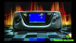 Sonic Chaos (Sega Game Gear) - Retro Video Game Commercial / Ad