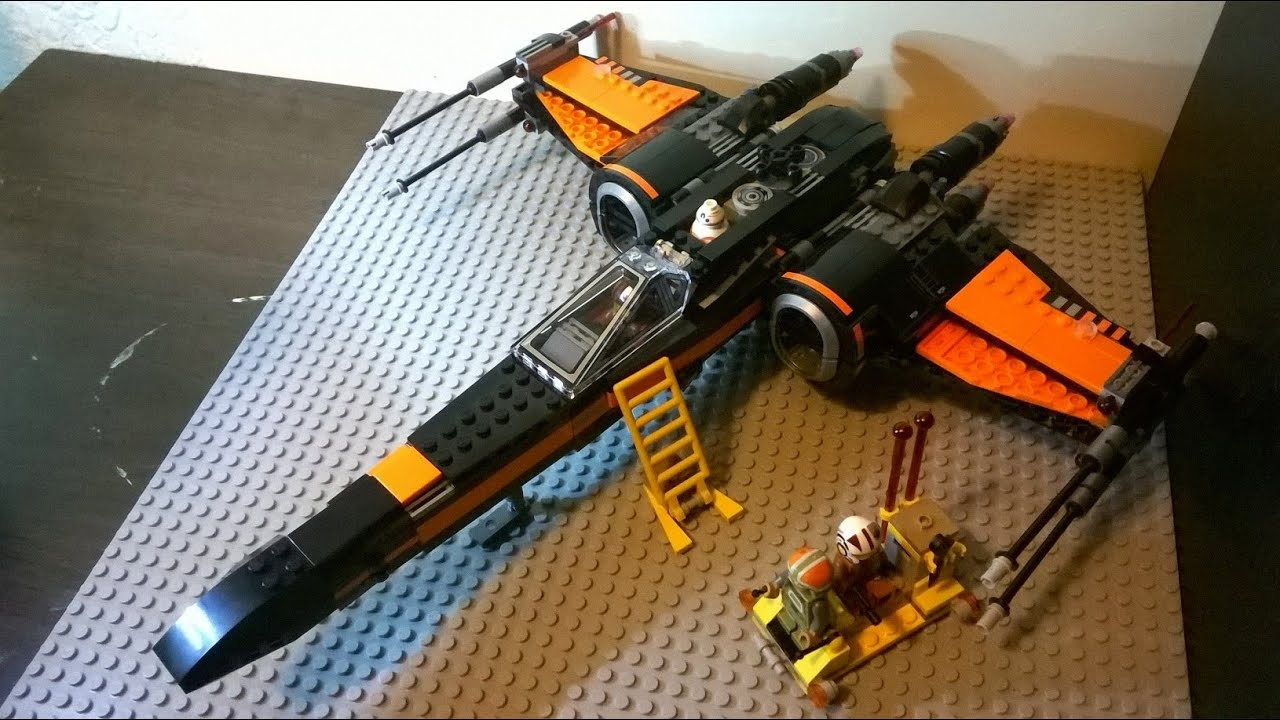 Lego star wars poe s x wing fighter review 75102 youtube - Lego Review Poe S X Wing Fighter 75102 Star Wars 7