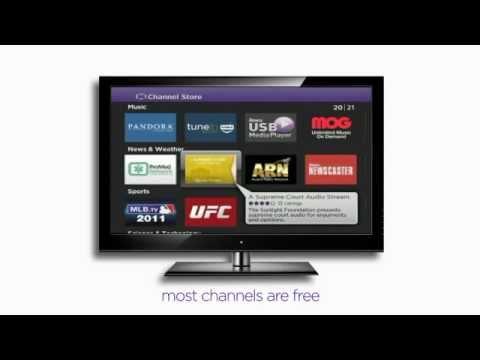 How To Setup Roku 2 Xd Streaming Playervideo Device Black Youtube