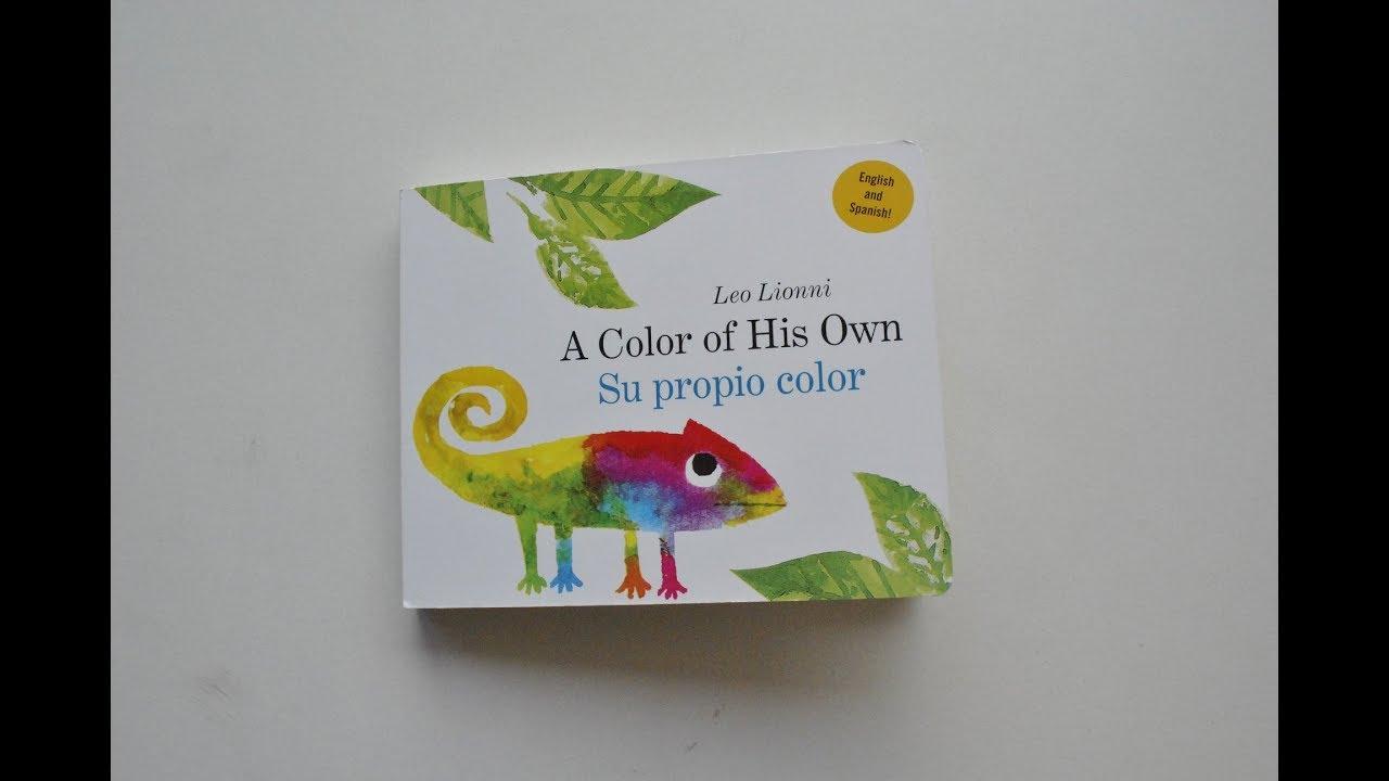Su Propio Color Por Leo Lionni Read Aloud In Spanish