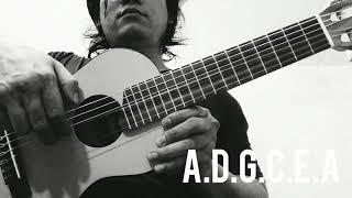 Perfect Guitalele Tuner - A.D.G.C.E.A