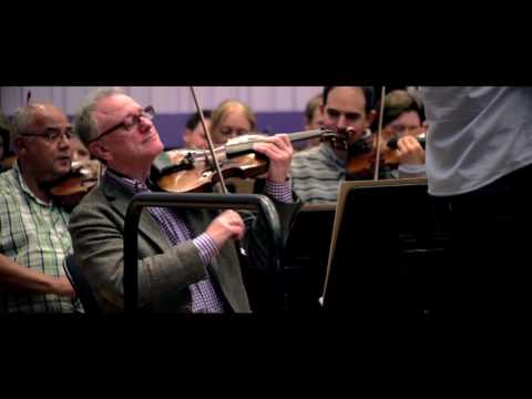 BBC Philharmonic perform 'Happy birthday' for BBC North
