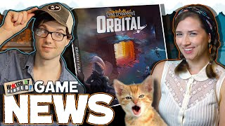 New game by Terraforming Mars' Designer! + more game news!