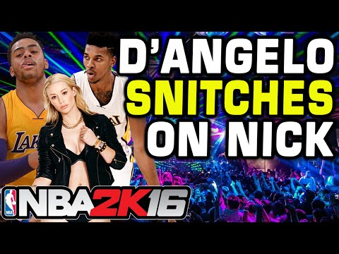 D'angelo Russell Secretly Records Nick Young Admitting He Cheats On Iggy Azalea from YouTube · Duration:  3 minutes 10 seconds