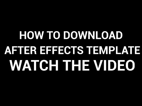 how to download after effects