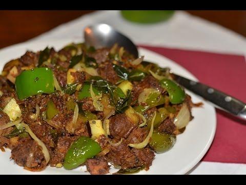 8df16cd3aae6 Beef Capsicum Stir Fry Recipe   Kerala Beef Capsicum Ularthiyathu ...