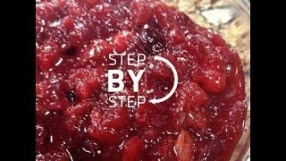 Cranberry Orange Sauce, Orange Cranberry Sauce, Cranberry Orange Sauce Recipe