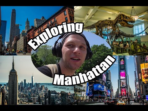 My Travel Diary - United States (#Manhattan #NewYorkCity #NYC #Rockefeller #Bronx #Brooklyn) 2018