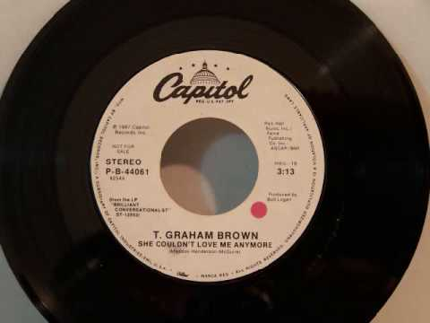 T. Graham Brown - She Couldn't Love Me Anymore