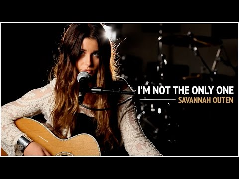 I'm Not The Only One - Sam Smith (Savannah Outen Acoustic Cover)