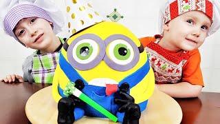 Сёма и Лёва получили сюрпризы и сладости ко дню рождения