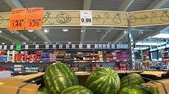"""Цены на продукты в Созополе. Магазин """"Lidl"""". Болгария 2018"""