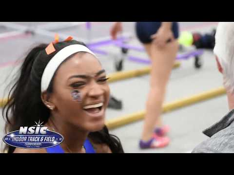 Highlights from Day 1 of the 2018 NSIC Indoor Track & Field Championships.