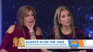 Kathie Lee Gifford to Ricky Gervais 'You are my favorite atheist'