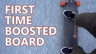 First Time Boosted Board | Sandbox Gear | Training Board Comparison