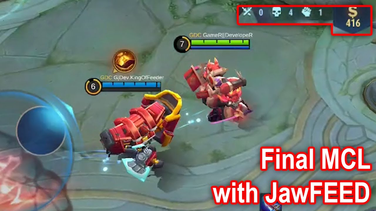 Epic COMEBACK JawFEED di FINAL MCL | JAWhead Collector Skin Mobile Legends