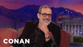 Jeffrey Dean Morgan's 8-Year-Old Son Likes To Dress Up As Negan  - CONAN on TBS