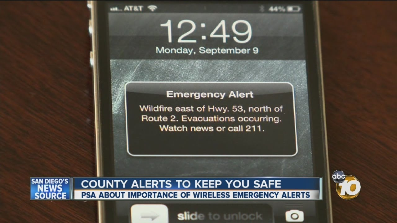 Wireless Emergency Alert system now available to local emergency officials