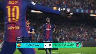 PES 2018 AMAZING COMPILATION -PS4-GOALS-SKIILS-HD