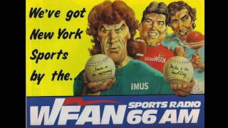 WNBC / WFAN 66 New York - Station/Format change. First 5 minutes of WFAN - OCTOBER 7 1988
