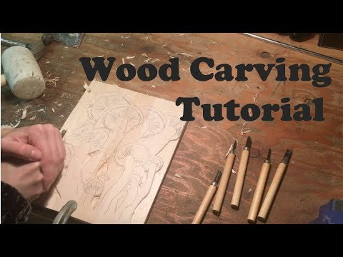 Wood Relief Carving Tutorial