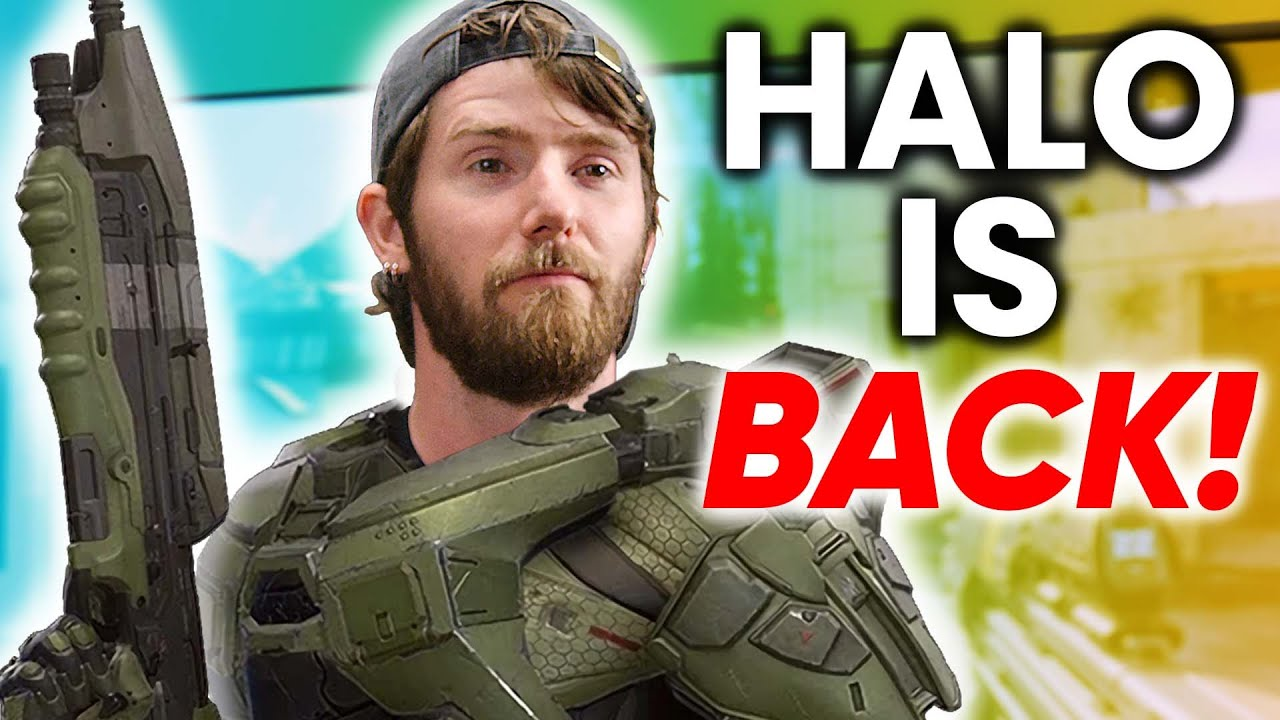 Halo is BACK - Halo Infinite Technical Preview Reaction