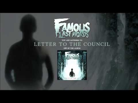 """Famous Last Words """"Council Of The Dead"""" (Full Album Stream)"""