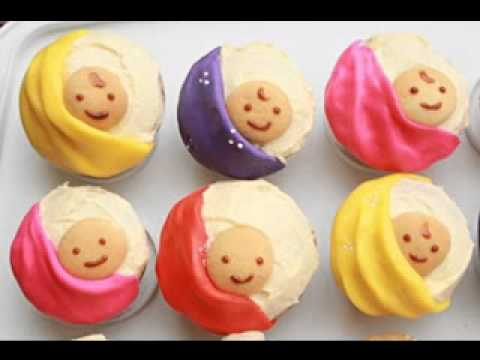 Easy diy baby shower cupcake decorating ideas youtube for Baby shower cupcake decoration ideas