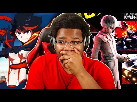 HOLY NEW ANIME GAMES! NEW Tokyo Ghoul Call to Exist + Kill la Kill THE GAME! Baby Vegeta DLC & MORE!
