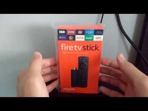 Unboxing The Amazon Fire TV Stick 2nd Gen (with Alexa Voice Remote)