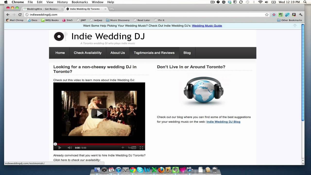 How to put Wedding Wire Reviews on Your Site - YouTube